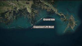 В Луизиане при опрокидывании судна погибли пять человек