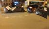 На Лиговском проспекте произошла авария с каршерингом