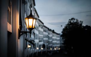 В Выборге меняется время работы уличных фонарей