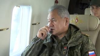 Шойгу решил завершить внезапную проверку в Южном и Западном военных округах