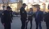 Задержания у Смольного: журналиста отпустили, активистов оставили