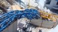 На Троицкой ГРЭС рухнул кран, есть погибшие и раненые, ...