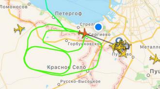Самолеты не могут приземлиться в Пулково из-за снега