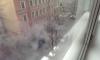 На 3-ей Красноармейской машины залило горячей водой