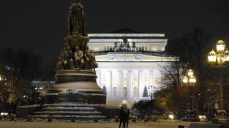 Минувшая ночь оказалась в Петербурге самой холодной с начала зимы