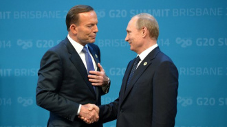 Саммит G20 в Австралии начался со встречи Владимира Путина с коалами и аборигенами
