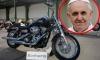 Байкерскую куртку и Harley-Davidson Папы Римского продали с молотка