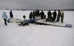 Легкомоторный самолет упал на аэродроме в Ленобласти