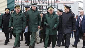 Министр обороны Сергей Шойгу прибыл на Северный флот