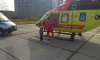 За сутки санавиация доставила в больницы трех жителей Ленобласти