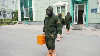 Смольный: интенсивность распространения COVID-19 в Петербурге растёт