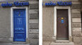 В центре Петербурга железную дверь превратили в историче ...