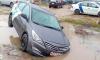 Петербуржца оштрафовали на 15 тысяч за припаркованный в лужу каршеринг