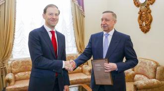 Минпромторг вручил Петербургу сертификат на спортивное оборудование