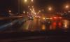 Ночью на путепроводе в Парнасе произошла массовая авария