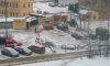 Строители повредили газопровод и оставили часть Приморского района без газа
