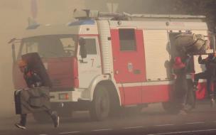 В Амурской области загорелись шесть домов