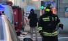 """Недалеко от станции метро """"Лесная"""" около полудня загорелась квартира"""