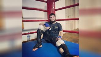 Нурмагомедов опубликовал новое фото с тренировки
