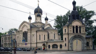 На территории монастыря в Петербурге найден мертвый младенец