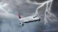 В аэропорту Сочи молния ударила в самолет во время ...