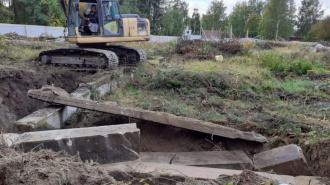 В Приморске началось строительство культурно-досугового центра