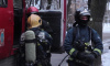 Спасатели час тушили здание на Гороховой улице