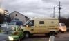 Петербуржцы приняли столкновение Daewoo Matiz и инкассаторов за дерзкое ограбление