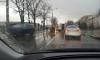 На Металлистов ДТП из-за ливня: джип влетел в столб, пострадал пешеход