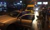 На Дунайском машина влетела в столб из-за инфаркта водителя