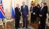 Владимир Путин встретилсяс президентом Исландии в Петербурге