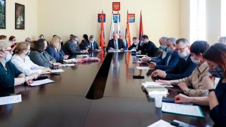 Руководители Выборгского района представили городским депутатам итоги за 2020 год и планы на 2021 год