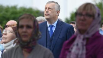 Александр Дрозденко приехал в Гатчинский район с рабочей поездкой