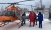 Из Тосно спасатели доставили на вертолете 34-летнего мужчину с инсультом