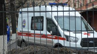 В Петербурге 11-летний мальчик попал в больницу после наезда на него машины