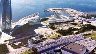 """Около """"Лахта Центра"""" планируют построить железнодорожную станцию"""