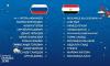 Состав российской сборной на предстоящий матч: Дзюба и Чернышев выйдут на замену