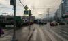 На Коломяжского столкнулись троллейбус и трамвай