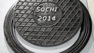 Массовое воровство люков в Сочи угрожает Олимпиаде 2014
