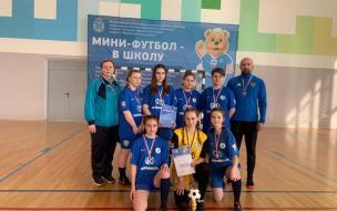 Рощинские футболистки заняли 3 место в III этапе Всероссийских соревнований по мини-футболу