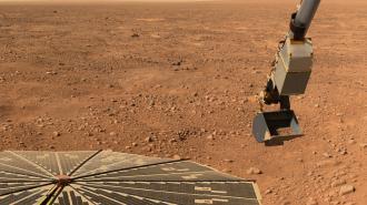 Беспилотный вертолет NASA совершил полет на Марсе