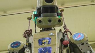 "Робот ""Федор"" пошутил про задержку на МКС"