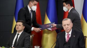 """Эрдоган поддержал создание """"Крымской платформы"""""""