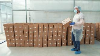Прививку от коронавируса на дому сделали более 700 петербуржцев