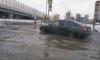Водоканал убрал всю воду, залившую Выборгское шоссе