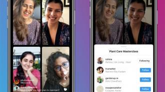 Instagram представил новую функцию Live Rooms