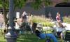 Чиновники перепланируют дворик Бакста: там появятся скульптуры и цветник