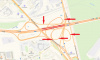 На развязке с Московским шоссе перекроют пять съездов КАД одновременно