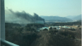 Появились фото крупного пожара рядом с Олимпийской ...