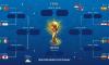 ФИФА опубликовала расписание матчей 1\8 финала